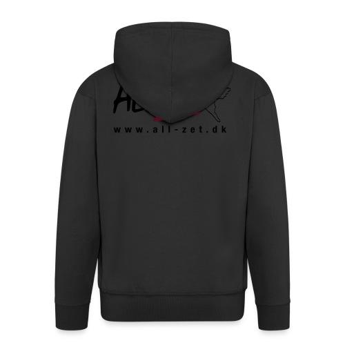 All Zet Logo - Herre premium hættejakke