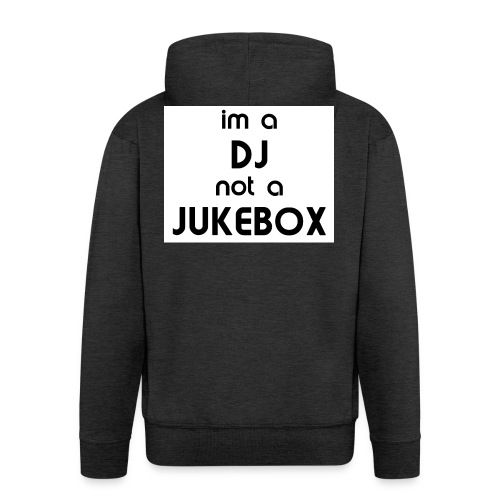 dj_jukebox - Premium Hettejakke for menn