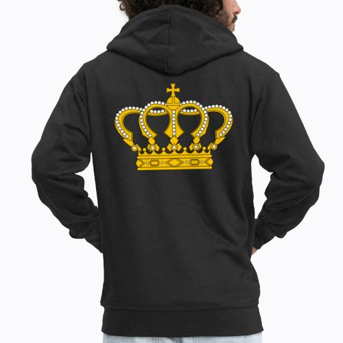 Golden crown - Men's Premium Hooded Jacket