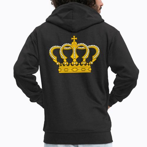 Golden crown - Men's Premium Hooded Jacket