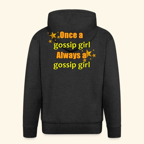 Gossip Girl Gossip Girl Shirts - Men's Premium Hooded Jacket