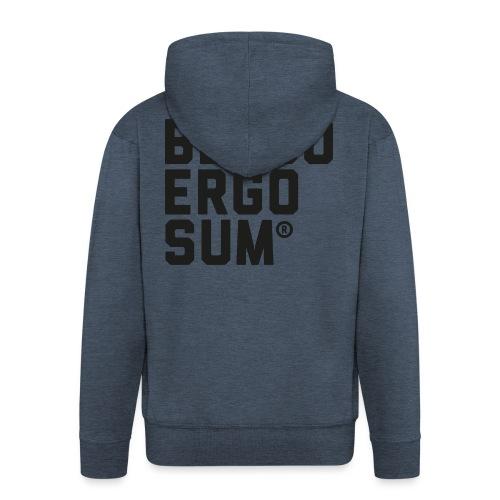 Belgo Ergo Sum - Men's Premium Hooded Jacket