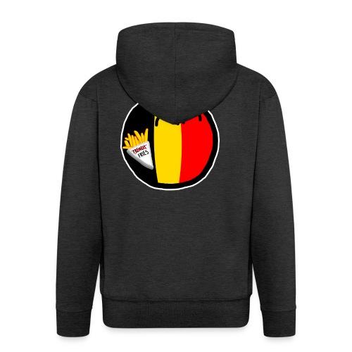 Belgiumball - Men's Premium Hooded Jacket