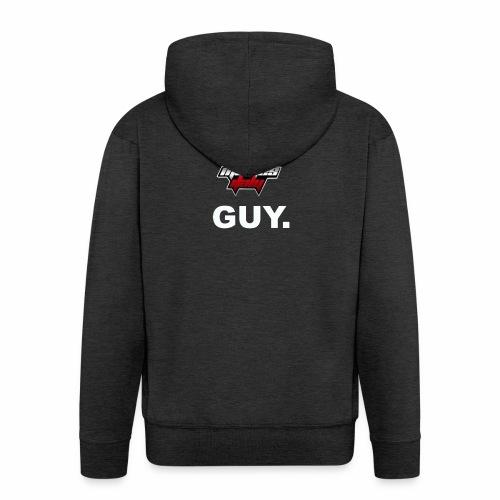 I'm a WMItaly guy! - Felpa con zip Premium da uomo