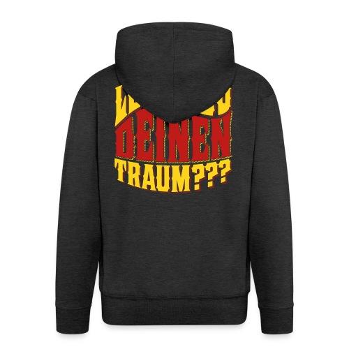Lebst Du Deinen Traum?-farbig - Mannenjack Premium met capuchon