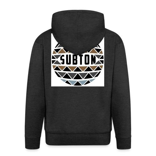 wereldbol_subton2-jpg - Men's Premium Hooded Jacket