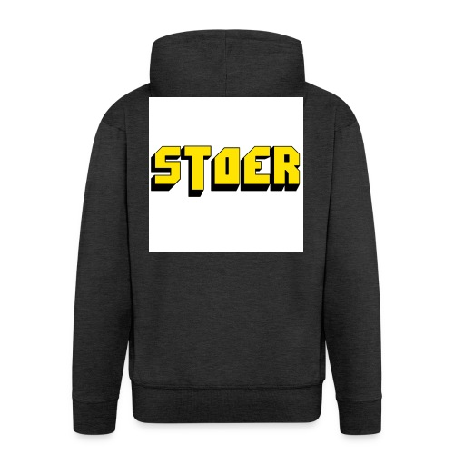 stoer shirt - Mannenjack Premium met capuchon