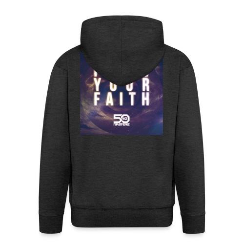 Follow Your Faith 2 - Männer Premium Kapuzenjacke