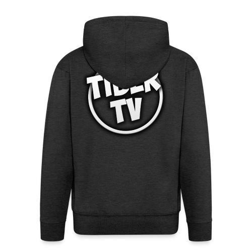 TiberTV White phone case S5 Premium Case - Mannenjack Premium met capuchon