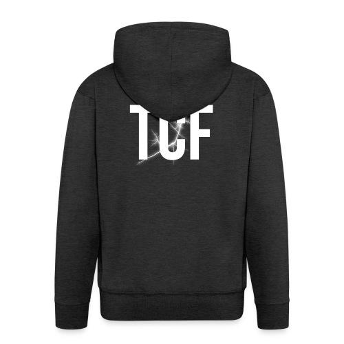 TCF Cappello - Felpa con zip Premium da uomo