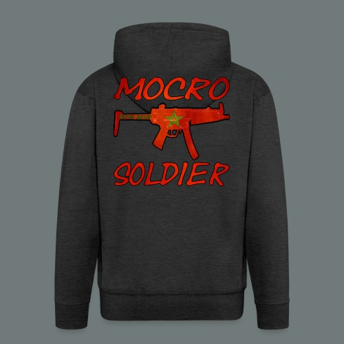 Mocro Soldier Trui (Heren) - Mannenjack Premium met capuchon
