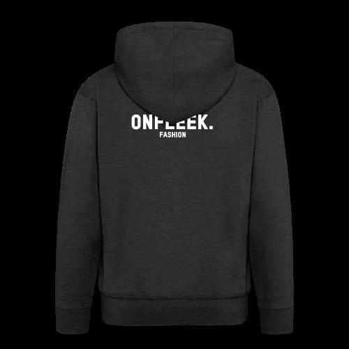 ONFLEEK basis T-shirt - Mannenjack Premium met capuchon