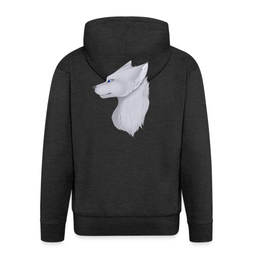 Wolf Skin - Men's Premium Hooded Jacket