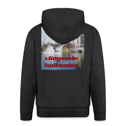t shirt man Vliegende Hollander - Mannenjack Premium met capuchon