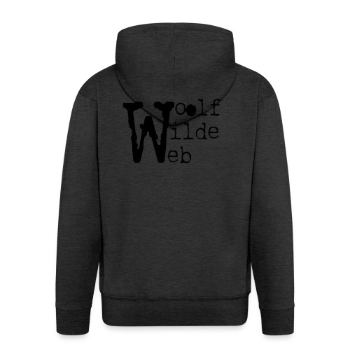Camiseta Woolf Wilde Web - Chaqueta con capucha premium hombre