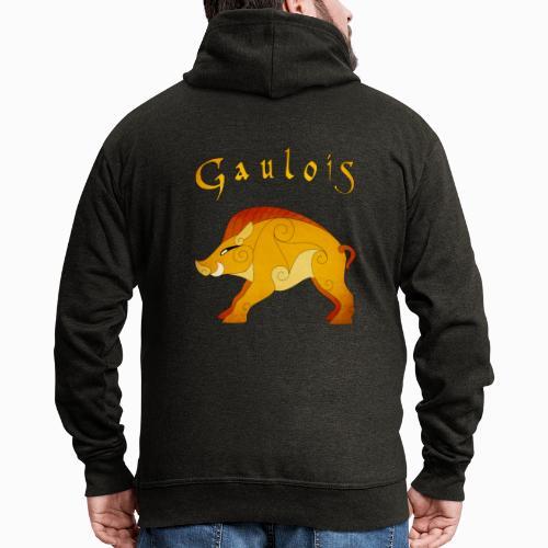 Sanglier Gaulois - Veste à capuche Premium Homme