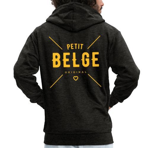petit belge original - Veste à capuche Premium Homme