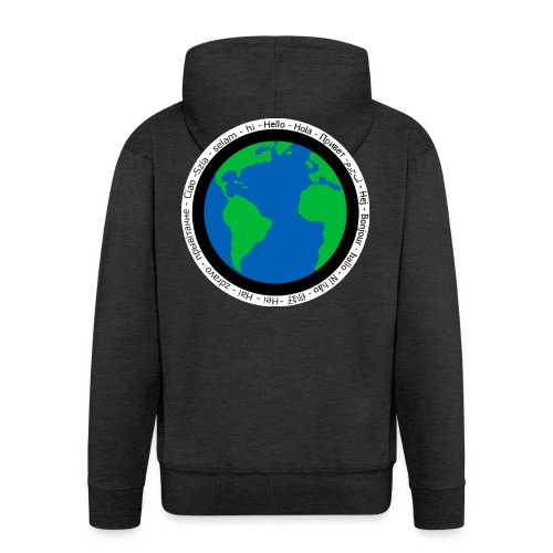 We are the world - Men's Premium Hooded Jacket