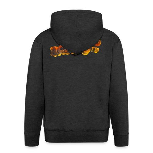 Maglietta PuntoACapo- Original Design- - Men's Premium Hooded Jacket
