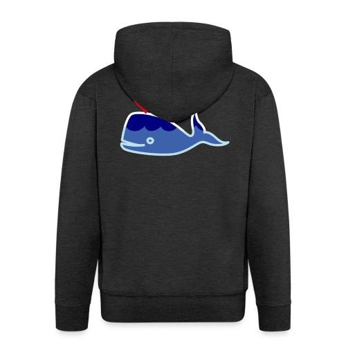 Wale of Love - Chaqueta con capucha premium hombre