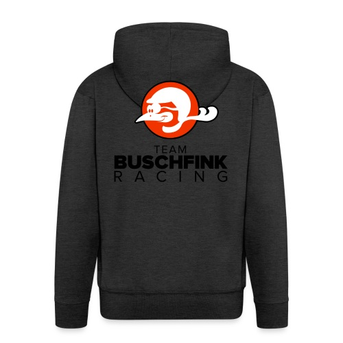 Team logo Buschfink - Men's Premium Hooded Jacket