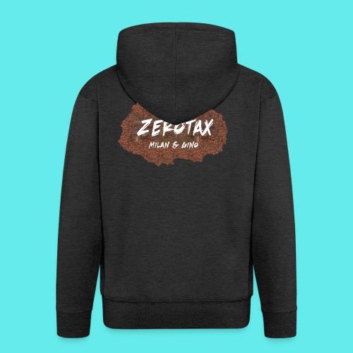 ZeroTax Merch - Mannenjack Premium met capuchon