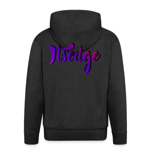 ItsEdge Signature Purple - Men's Premium Hooded Jacket