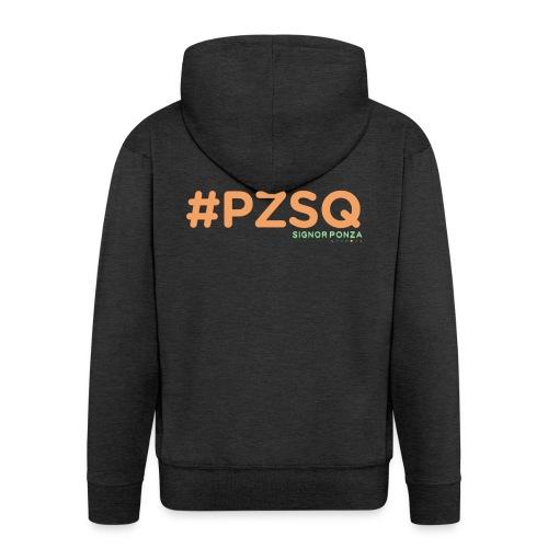 PZSQ 2 - Felpa con zip Premium da uomo