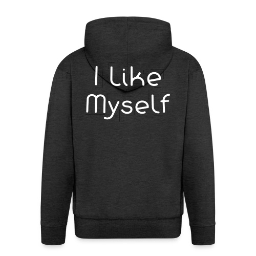I Like Myself - Felpa con zip Premium da uomo