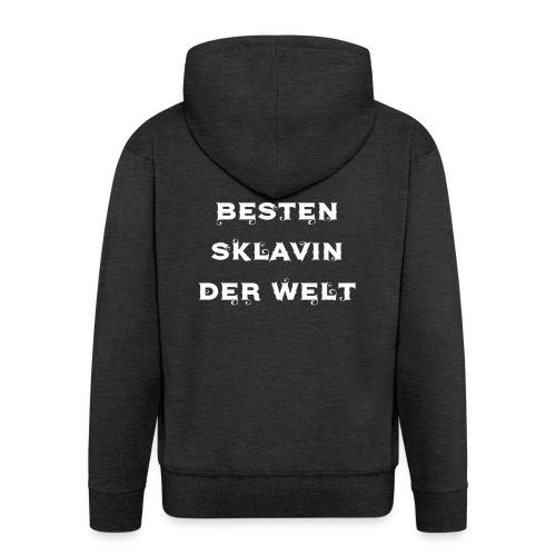 Meister der besten Sklavin der Welt - Männer Premium Kapuzenjacke