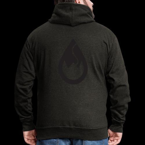 WSC-Logo schwarz - Männer Premium Kapuzenjacke