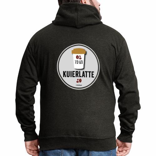 Kuierlatte - Mannenjack Premium met capuchon