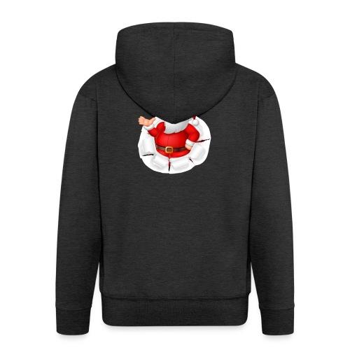 Weihnachtsmann - Männer Premium Kapuzenjacke