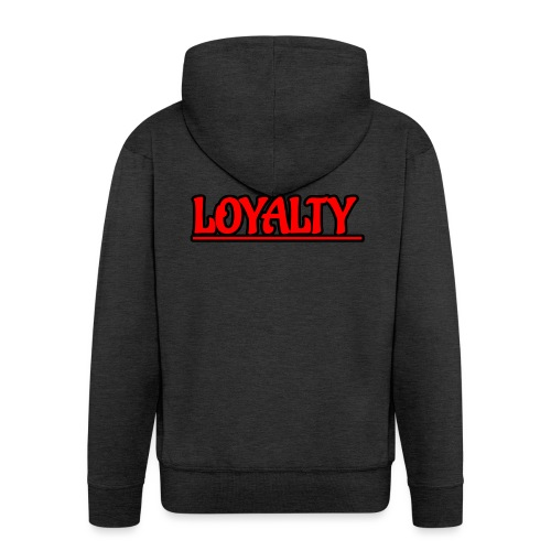 Loyalty - Men's Premium Hooded Jacket