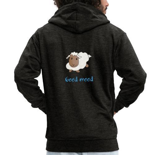 Nadège le petit mouton blanc - Veste à capuche Premium Homme