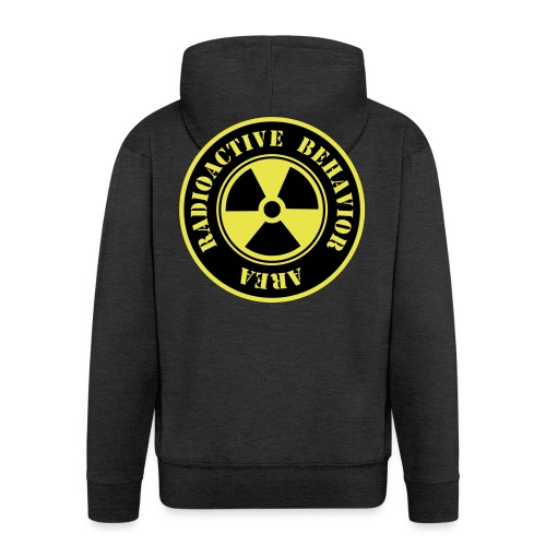 Radioactive Behavior - Chaqueta con capucha premium hombre