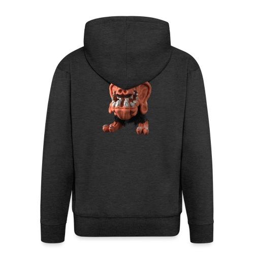 Very positive monster - Men's Premium Hooded Jacket