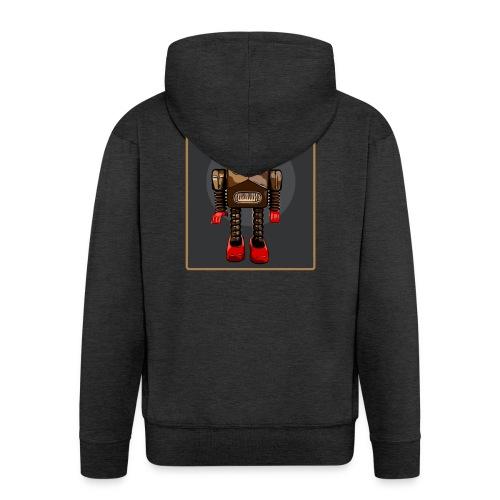 Vintage Roboter Sci-fi T-Shirt Robot Geschenkidee - Männer Premium Kapuzenjacke