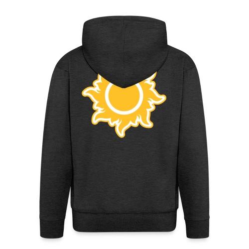 feurige Sonne sunshine Sommer summer Stern Star - Men's Premium Hooded Jacket