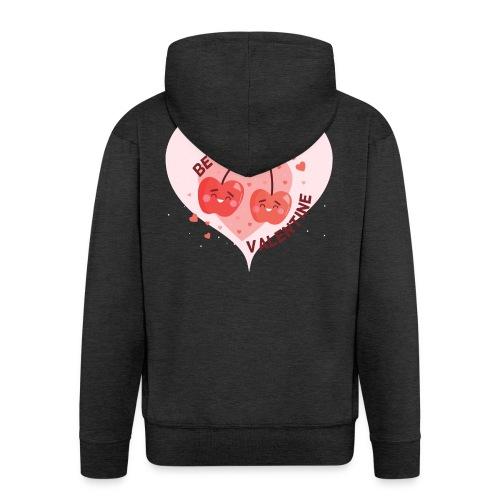 Be my Valentine - Männer Premium Kapuzenjacke