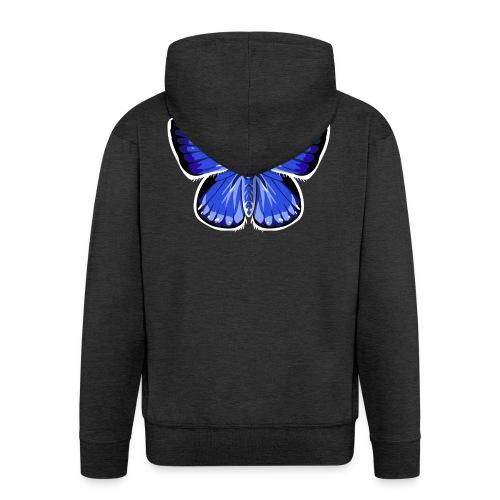 vlinder2_d - Mannenjack Premium met capuchon