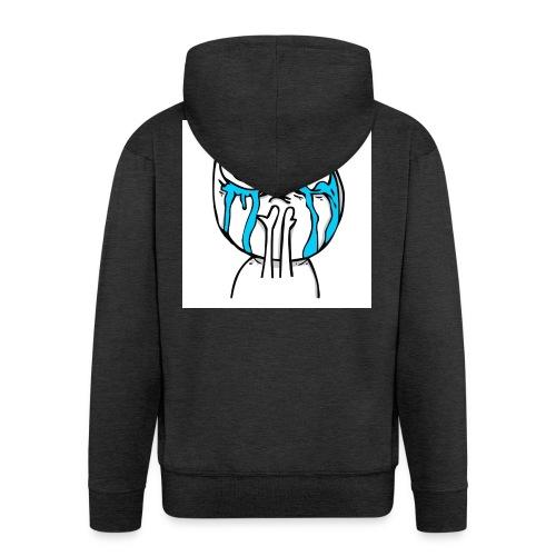 happy-cuteness-overload-l - Men's Premium Hooded Jacket