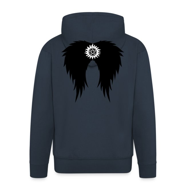 Supernatural wings (vector) Hoodies & Sweatshirts
