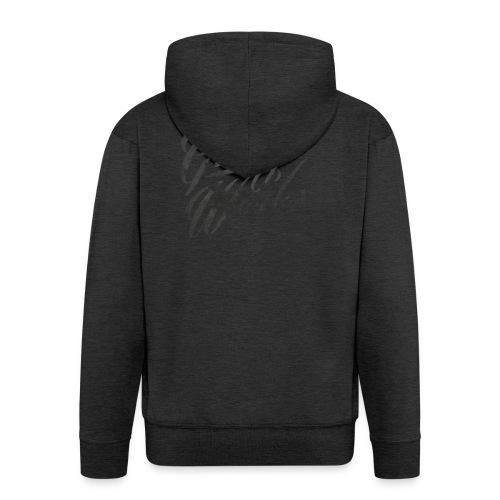 GrungeWorks Basic Women T-shirt - Miesten premium vetoketjullinen huppari