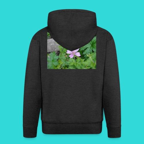 shirt bloem - Mannenjack Premium met capuchon