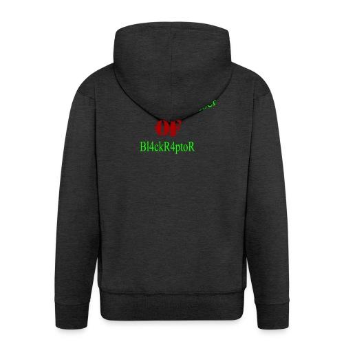 Crew_member_OF_BL4ckR4ptoRR - Männer Premium Kapuzenjacke