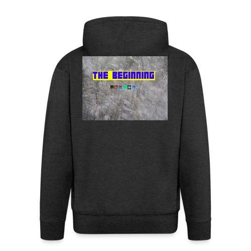 The Beginning - Men's Premium Hooded Jacket