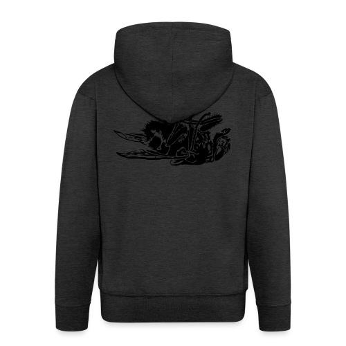 mouche morte - Veste à capuche Premium Homme