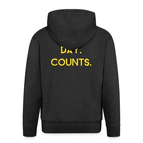 Every.Day.Counts. - Männer Premium Kapuzenjacke