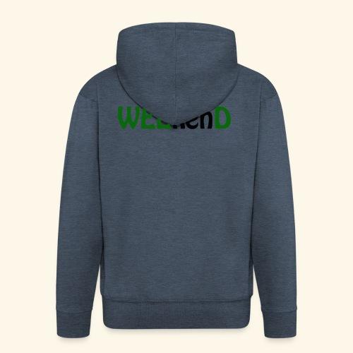 weed - Männer Premium Kapuzenjacke